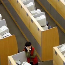 La crisis eleva 40 puntos el 39 presentismo 39 laboral en for Oficinas randstad madrid