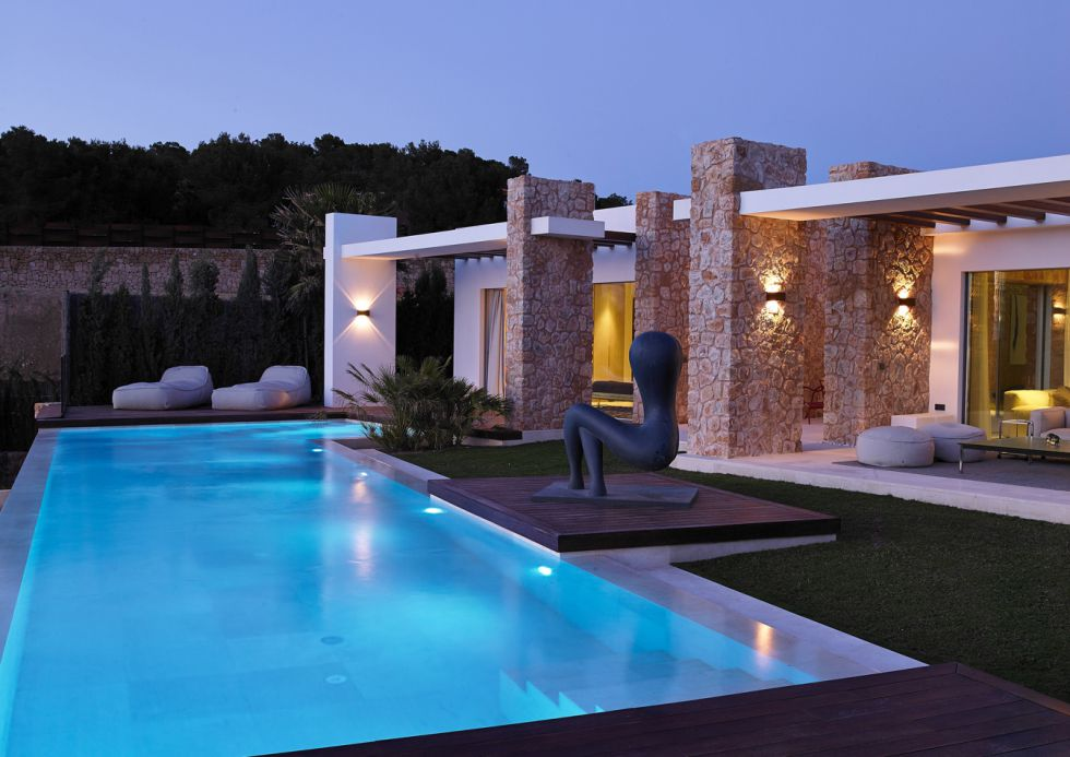 Fotos casas de lujo f ciles de vender a pesar del for Casa moderna jardin d el menzah