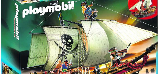 Playmobil una infancia de fuertes y barcos piratas for Barco pirata playmobil