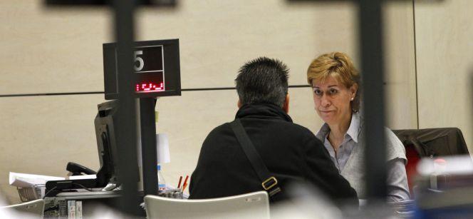 El 57 3 de los trabajadores parciales quieren m s horas for Oficina inem madrid