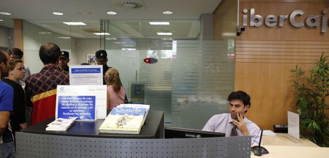 Ibercaja gana 42 6 millones de enero a marzo un 6 m s for Ibercaja oficinas zaragoza