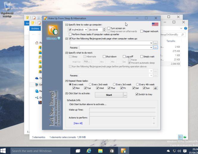 Windows: Cómo programar tu PC para que se encienda él solo con todo lo que necesitas | Lifestyle | Cinco Días
