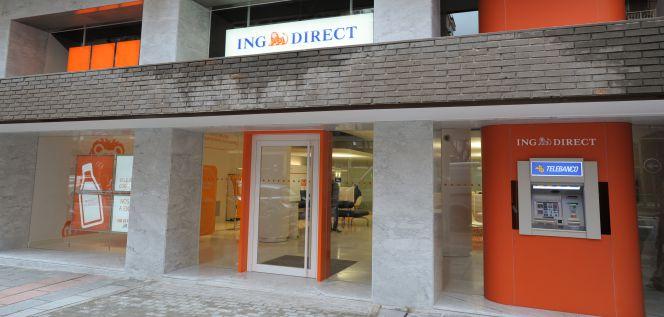 Los cajeros de ing se reducen a banca march y popular for Oficinas ing direct madrid