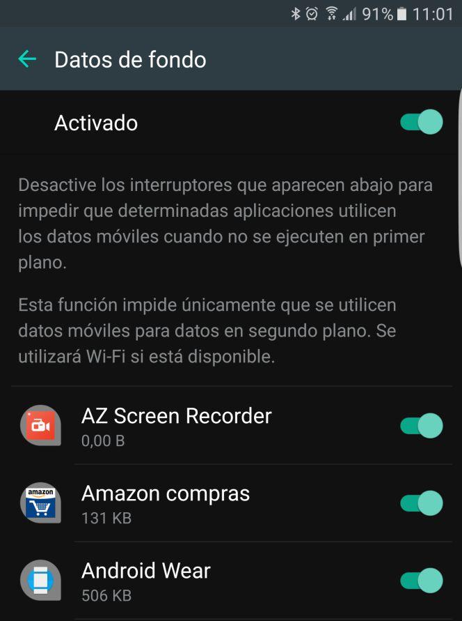 Evita el consumo excesivo de datos en tu Android por parte de cualquier aplicación   Smartphones   Cinco Días