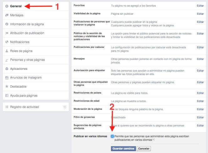 Cómo publicar el mismo post en Facebook en varios idiomas | Lifestyle | Cinco Días