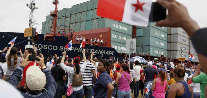 Inaugurado el Canal de Panamá, obra estrella de Sacyr   Empresas   Cinco Días