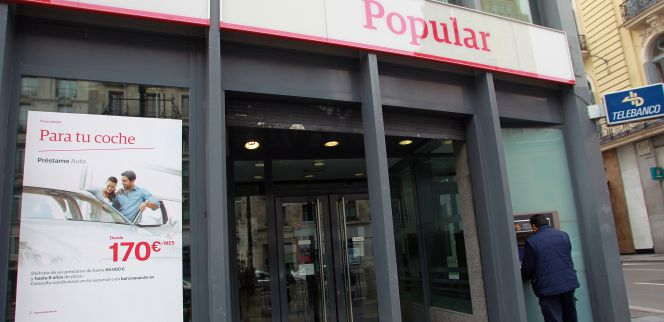 Popular cerrar 300 oficinas y reducir plantilla en al for Oficinas banco popular madrid