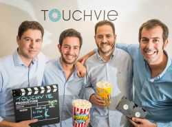 Equipo fundador de Touchvie.