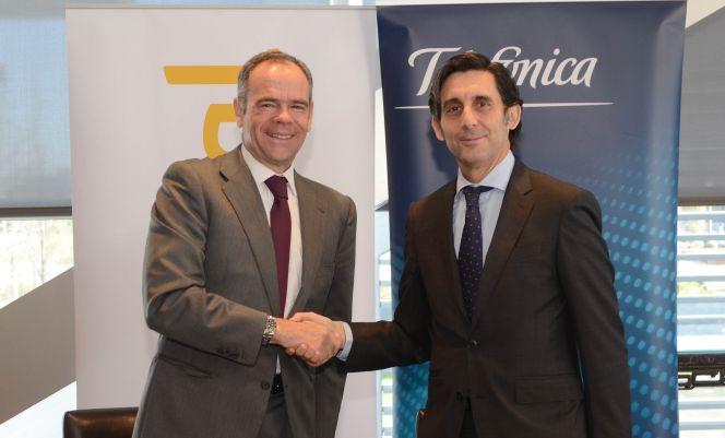 Ferrovial y Telefónica amplían relaciones | Empresas | Cinco Días