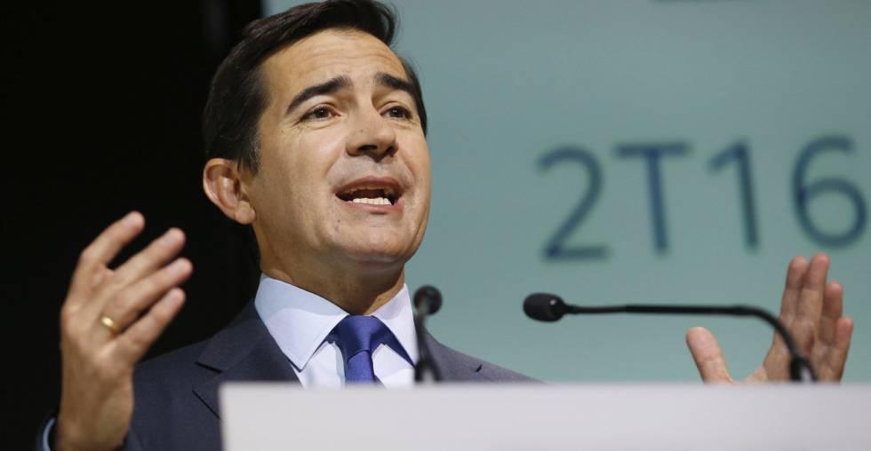 El banco español BBVA gana un 69% más en el primer trimestre