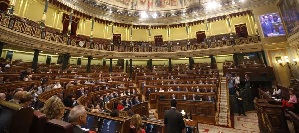 GRA009. MADRID, 17052017.- Vista general del hemiciclo del Congreso de los Diputados. EFEJavier Lizón