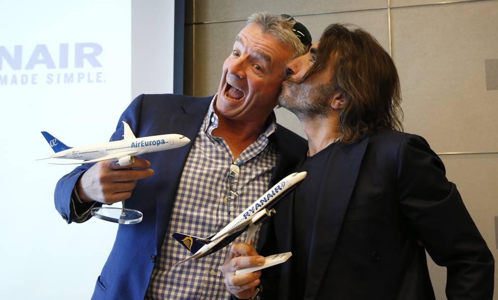 Ryanair venderá billetes para vuelos de larga distancia de Air Europa