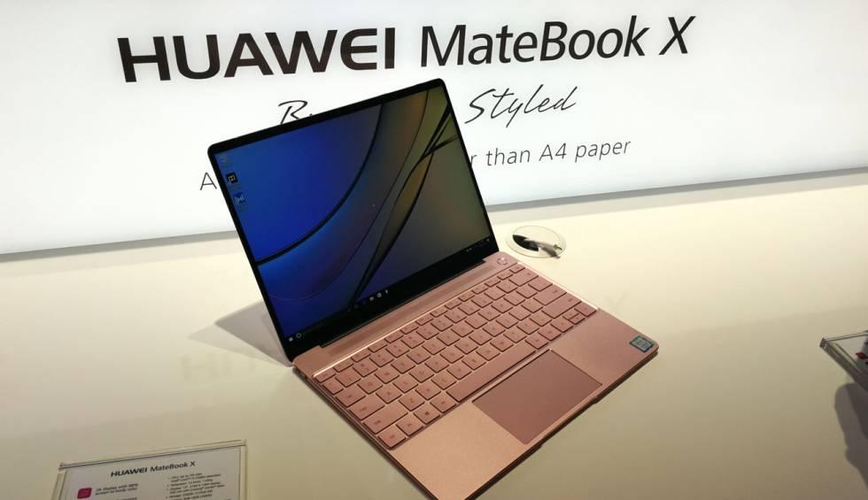 Huawei lanza tres portátiles para completar gama de dispositivos inteligentes