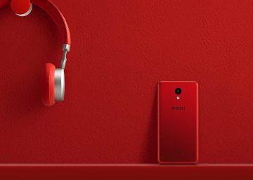 Meizu M5c de color rojo