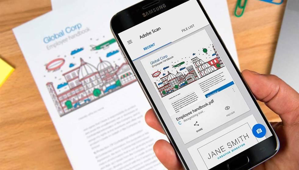 Escanea y convierte a PDF directo desde tu smartphone — Adobe Scan