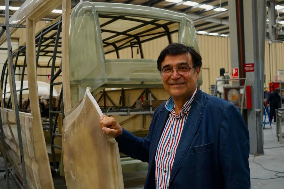 José Faustino Quince, presidente y consejero delegado de la compañía, en la fábrica de Noreña.