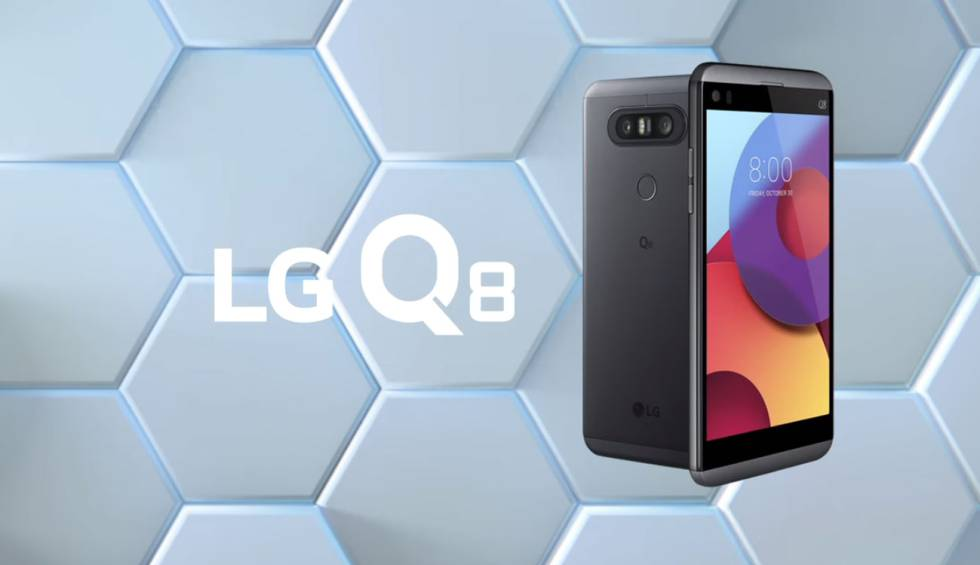 LG anunció el Q8, una versión reducida del V20