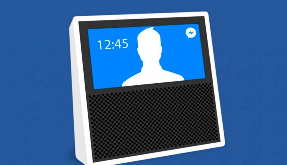 Facebook desarrolla un dispositivo para videollamadas