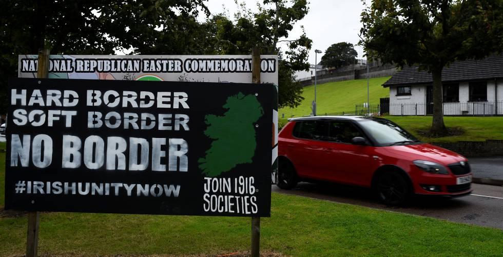 Reino Unido busca un Brexit sin fronteras para Irlanda del Norte