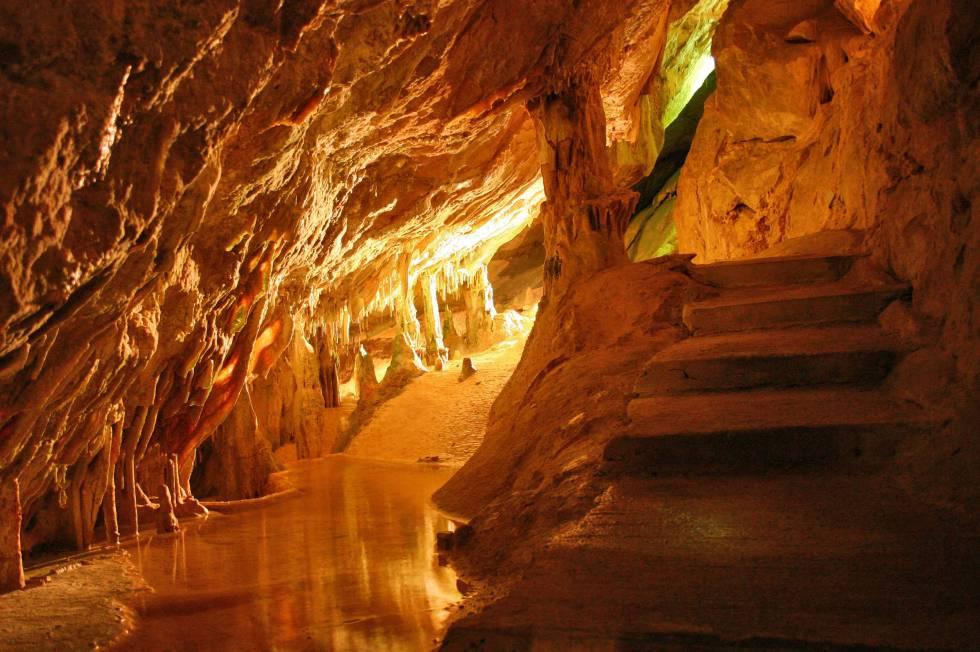 Cuevas Can Marca, en Ibiza.