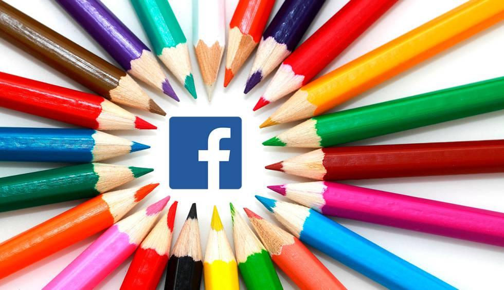 Facebook prueba fondos de colores para los comentarios