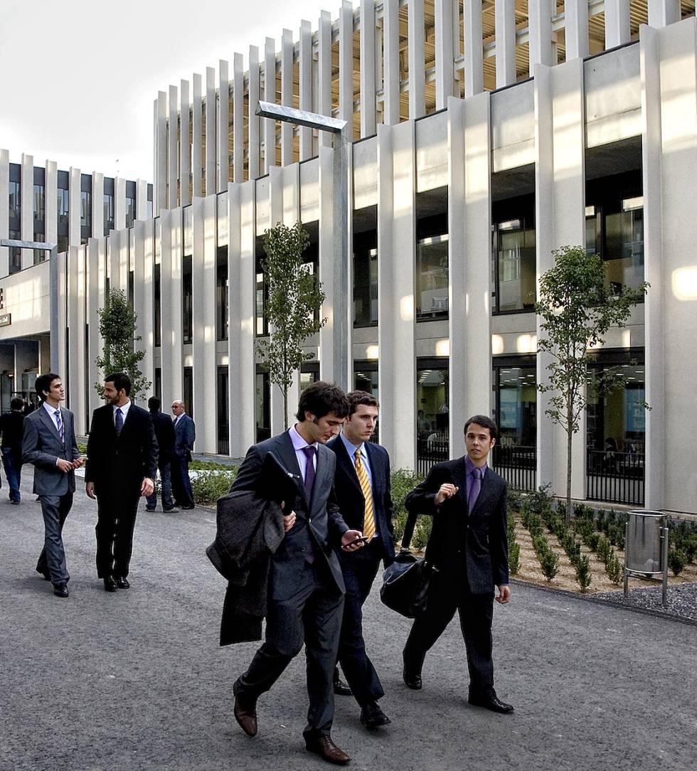 Campus de ESADE en Sant Cugat del Vallés, Barcelona, diseñado bajo los criterios del Plan Bolonia.