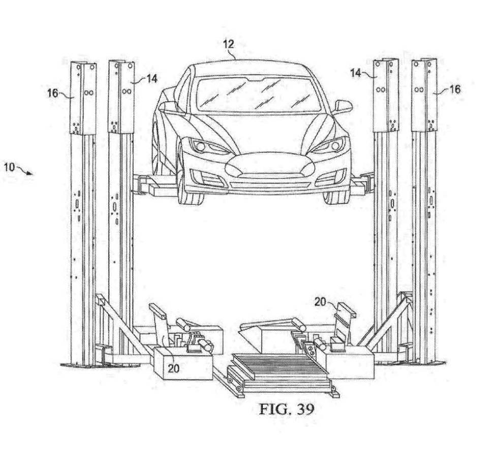 Tesla robot baterías
