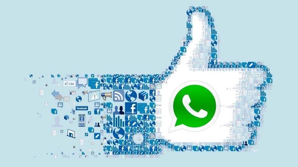 Facebook prueba botón de integración con WhatsApp