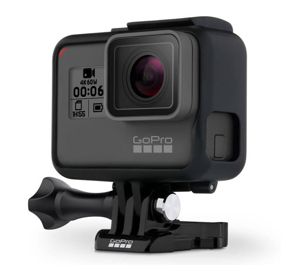 Hero6 Black, la nueva estrella de GoPro