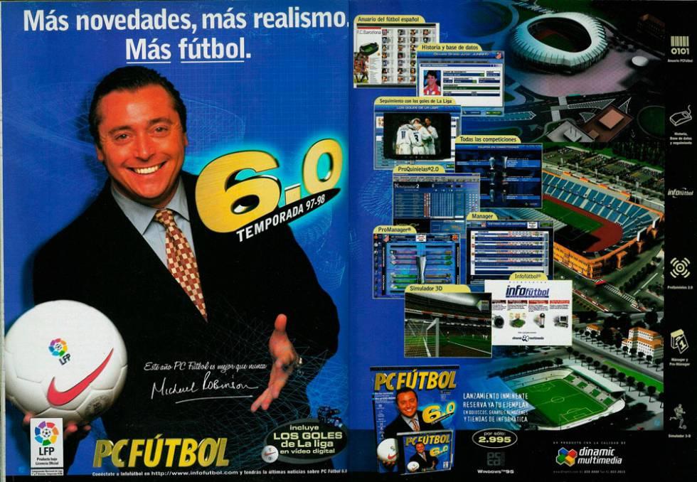 Regresa el PC Fútbol para móviles