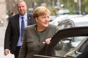 La canciller alemana, Angela Merkel. EFE Omer Messinger