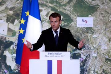 El presidente francés, Emmanuel Macron. REUTERSEtienne LaurentPool
