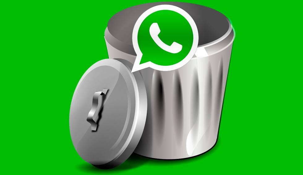 Activa WhatsApp la función de borrar mensaje