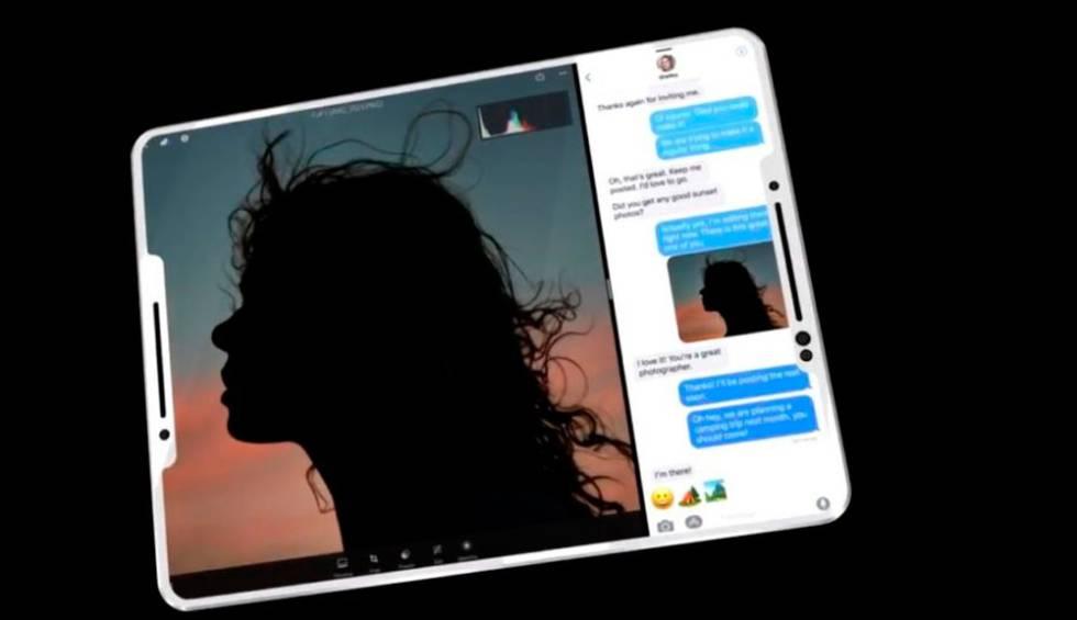 El próximo iPad sería muy parecido al iPhone X