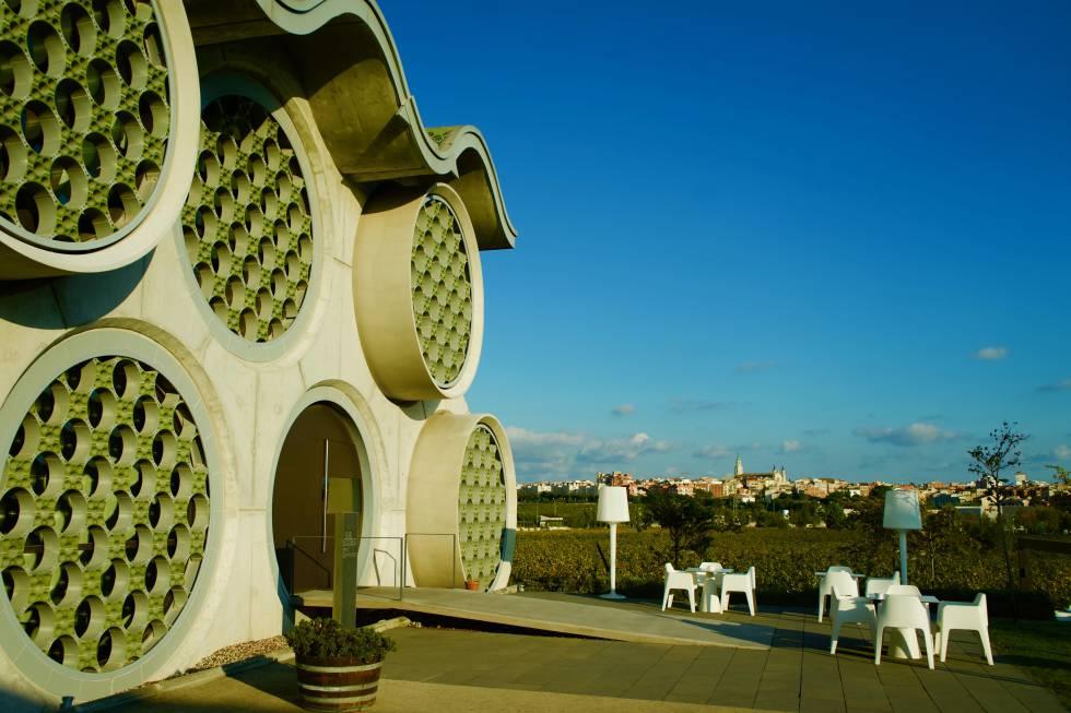 Vistas de Vilafranca del Penedès desde el Hotel Mastinell.