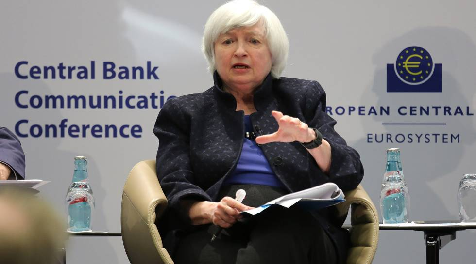 Janet Yallen confirma su salida de la Fed en febrero