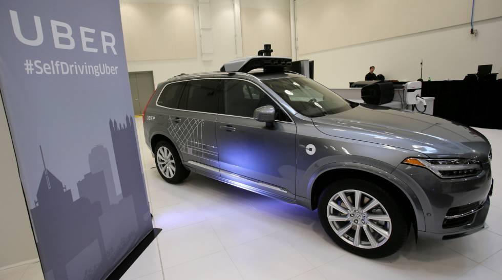 Uber comprará a Volvo 24.000 vehículos con tecnología de conducción autónoma