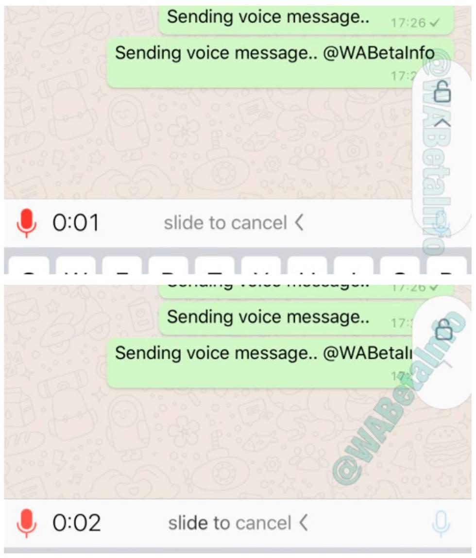 WhatsApp ahora permite grabar mensajes de voz sin mantener el botón presionado