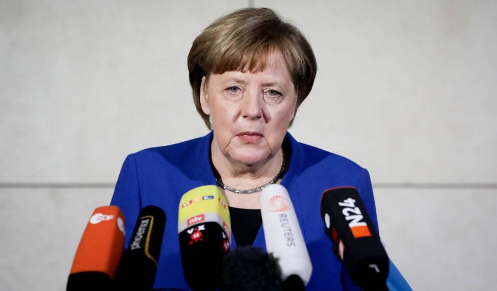 Merkel y Schulz cierran un acuerdo para una gran coalición de gobierno
