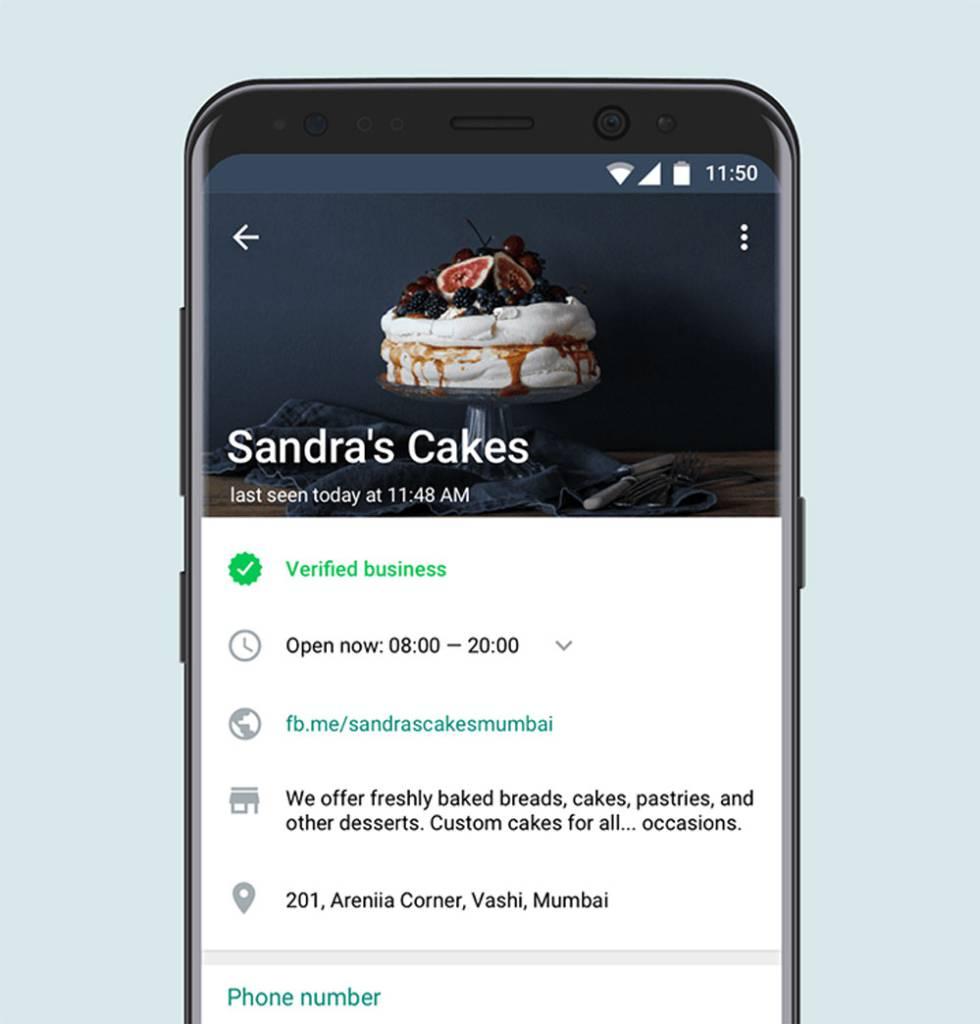 WhatsApp Business llega enfocada a los pequeños negocios