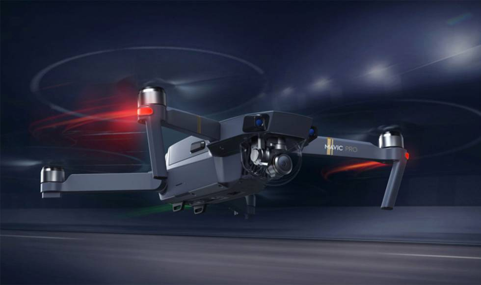 Mavic Air, el nuevo dron plegable de DJI
