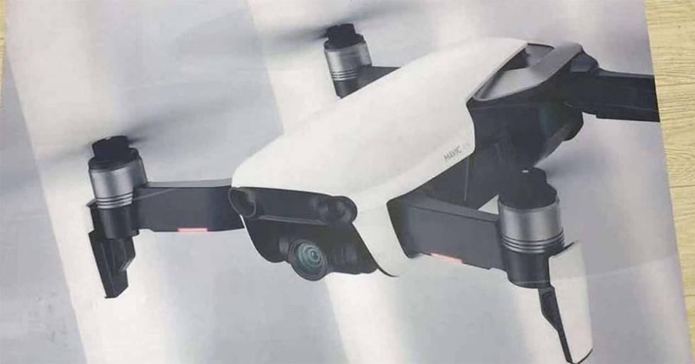 DJI Mavic Air, el nuevo dron portátil y potente