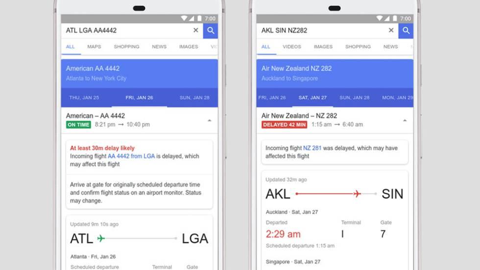 Inteligencia Artificial de Google predecirá el retraso de los vuelos