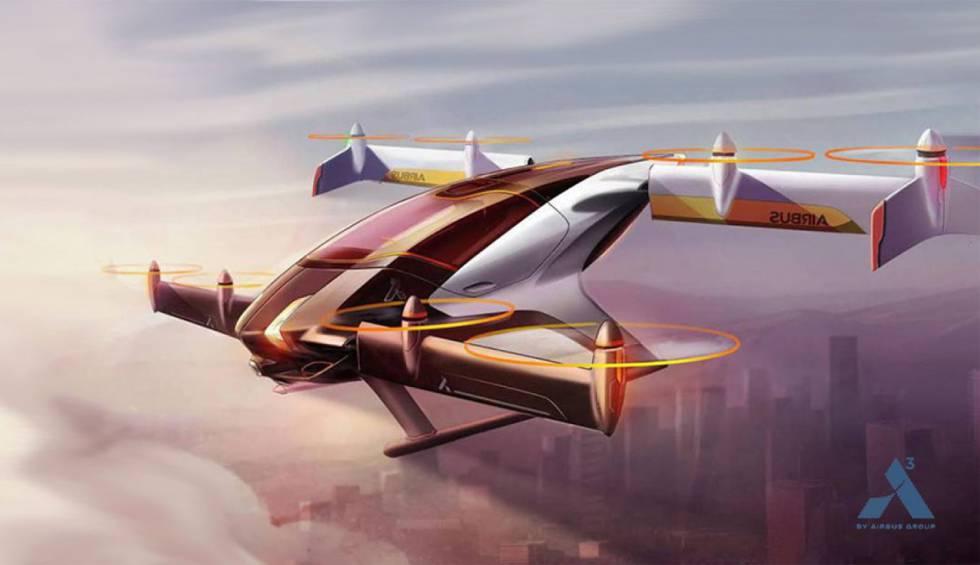 El taxi volador Airbus Vahana en realidad voló por primera vez