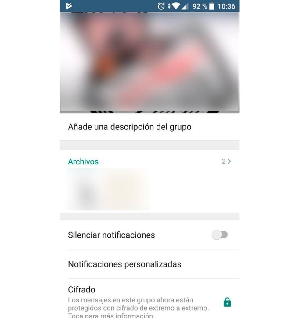 Ya puedes añadir descripciones de texto a los grupos ¿cómo cambiarlas — WhatsApp
