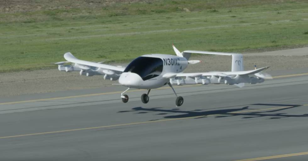 Presentaron el primer taxi aéreo autónomo, financiado por el cofundador de Google