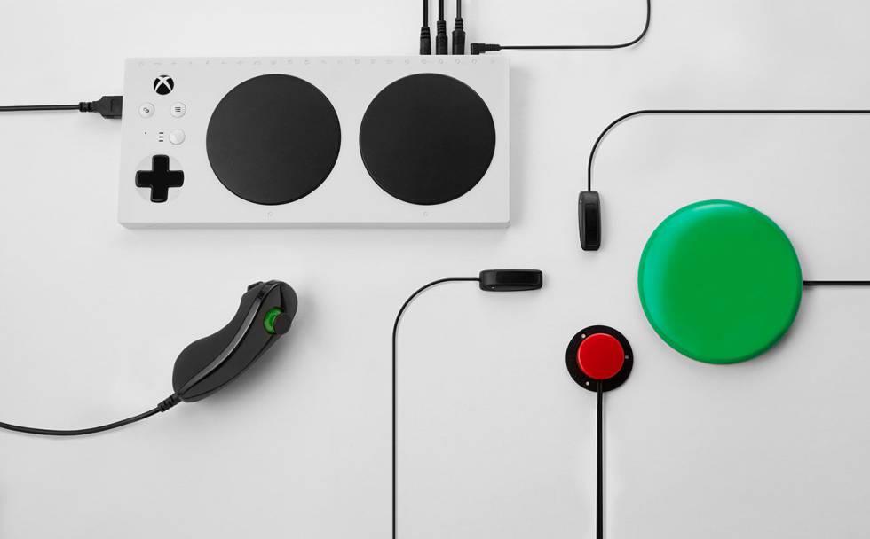 Microsoft presenta Xbox Adaptive Controller ideal para personas con movilidad reducida