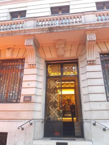 Quartier generale storico di Lombard Odier, in Rue de la Correterie, a Giebra (Svizzera).