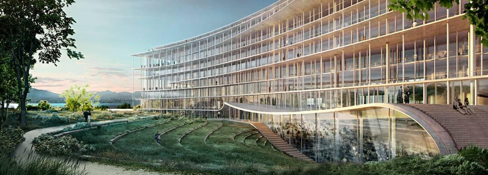 Ricreazione della nuova sede di Lombard Odier, progettata dallo studio di architettura Herzog &amp; De Meuron. [19659032] Ricreazione della nuova sede di Lombard Odier, progettata dallo studio di architettura Herzog &amp; De Meuron. </figcaption></figure> </div> </section> <p> L&#39;obiettivo del gruppo è che la nuova sede operativa sia pienamente operativa entro il 2022. L&#39;edificio sarà in grado di ospitare 2.600 dipendenti e avrà anche con un pubblico. </p> <p> Altri partner dell&#39;azienda sostengono che la banca è entrata in una nuova fase, in cui la tecnologia occupa una posizione fondamentale. &quot;I giorni del <strong> segreto bancario </strong> come segno fondamentale del sistema bancario svizzero sono sempre più indietro&quot;, afferma Annika Flankengren, un altro membro di Lombard Odier. &quot;Ora ci concentriamo sulla creazione di valore per il cliente, offrendo i migliori investimenti e le migliori soluzioni tecnologiche, e vogliamo investimenti socialmente responsabili per diventare una parte centrale della nostra strategia, non solo a causa di un problema etico, ma perché finiscono per generare più valore a lungo termine. &quot; </p> </div> </pre> <p><a href=