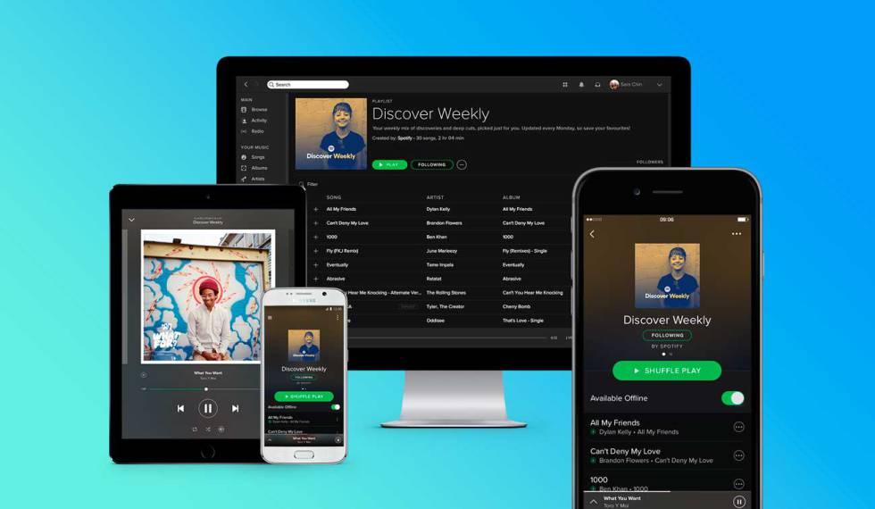 ¿Así o más? Spotify ahora permite descargar hasta 10,000 canciones